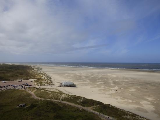 De Cocksdorp, Países Bajos: Blick von oben