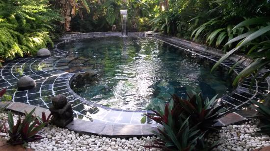 piscine ardoise coin spa - Photo de Lodge Roche Tamarin - Village ...
