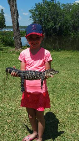 Lake Panasoffkee, Flórida: Fun adventure