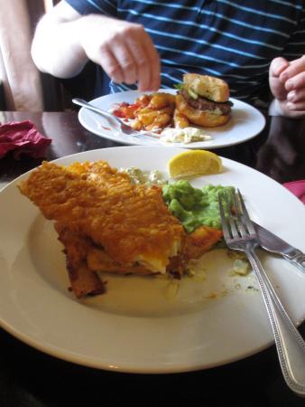 Hodnet, UK: lovely fish & chips