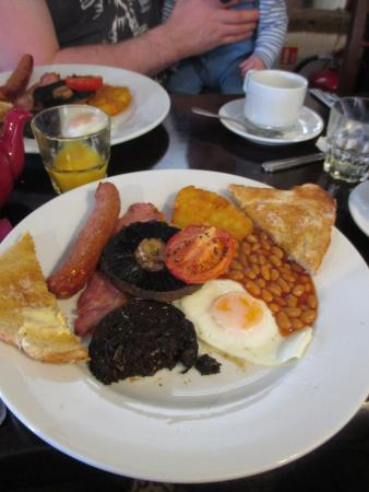 Hodnet, UK: Breakfast