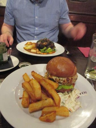 Hodnet, UK: Burger