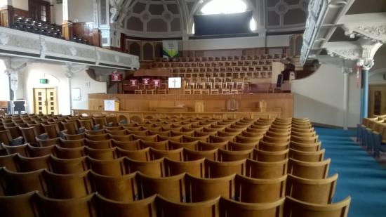 Bolton, UK: the interior of hall