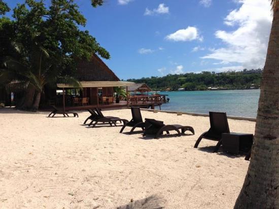 Erakor Island Resort & Spa: Beach area