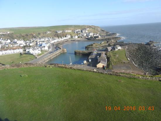 The Portpatrick Hotel: My view from room