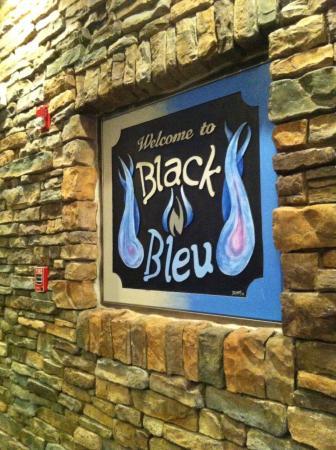 Mechanicsburg, Pensilvania: Sign in dining area