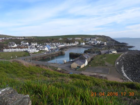 The Portpatrick Hotel: View of village
