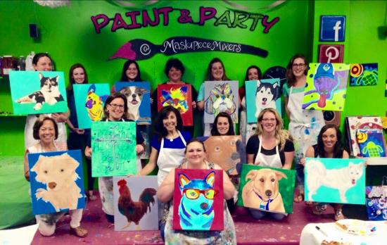 Masterpiece Mixers Paint & Party Studio Roswell