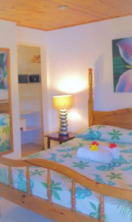 Beau Vallon Bungalows: Chambre Double