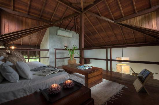 Hotel Vila dos Orixas: Bungalow Luxo Sala