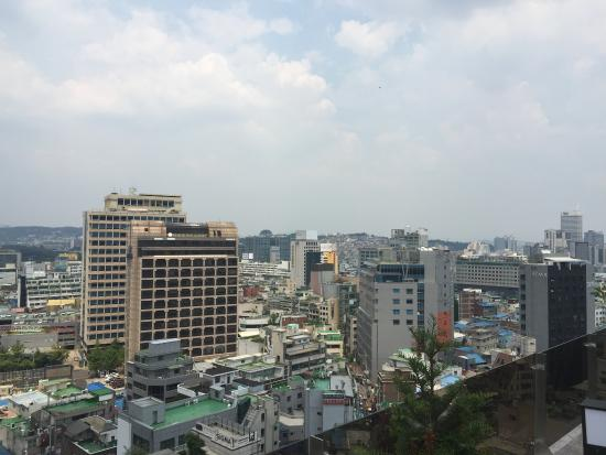 good view from the rooftop picture of staz hotel myeongdong ii rh tripadvisor com