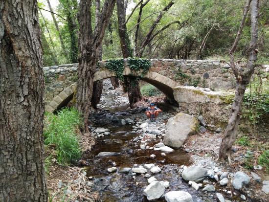 Platres, Cypr: Milia Medieval Bridge