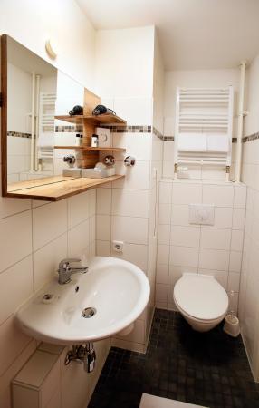 Hotel Luetzow: Badzimmer