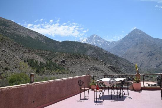 Imlil Lodge : The terrace