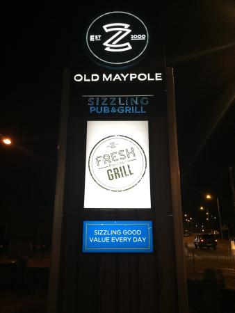 Ilford, UK: The Old Maypole