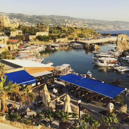 Byblos Sur Mer: View From Our Room (Overlooking the Old Port)