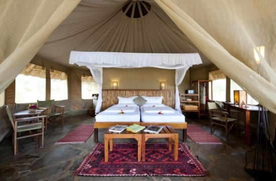 Severin Safari Camp: Tent Bedroom