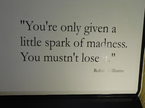 Glore Psychiatric Museum : Quotes on the walls