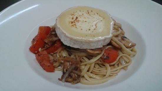 Restaurant Mozza Pates et Passions : Les passions du chef! Pasta you won't forget! It's part of our Table d'hôte, just like every oth
