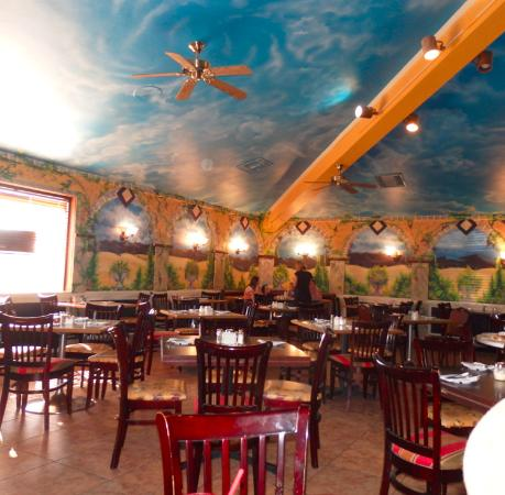 Painted Walls Inside Giuseppes Picture Of Giuseppes Italian