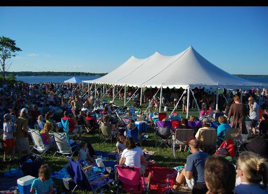 Rye, New Hampshire: Our festive events include Music by the Sea in the summer