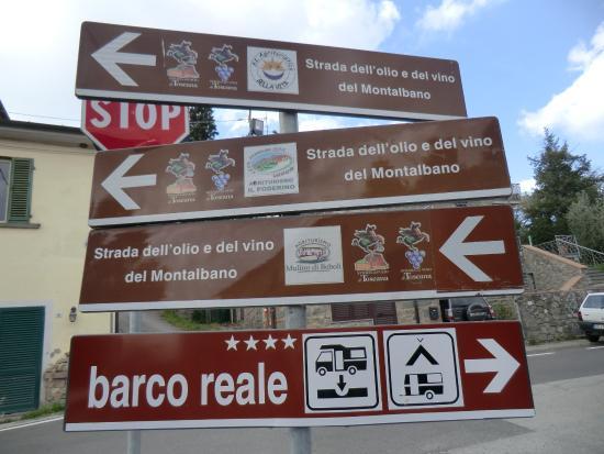 San Baronto, Ιταλία: Wijnroute's genoeg.