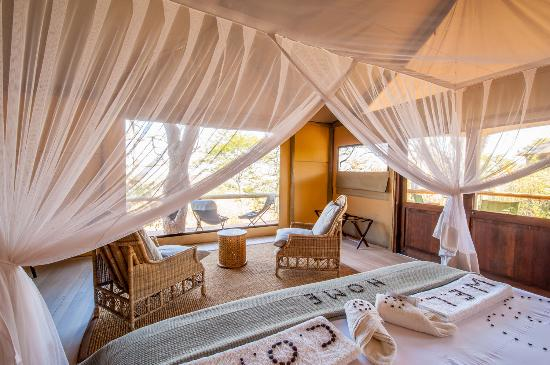 Ghoha Hills Savuti: Your Bedroom Overlooking Chobe