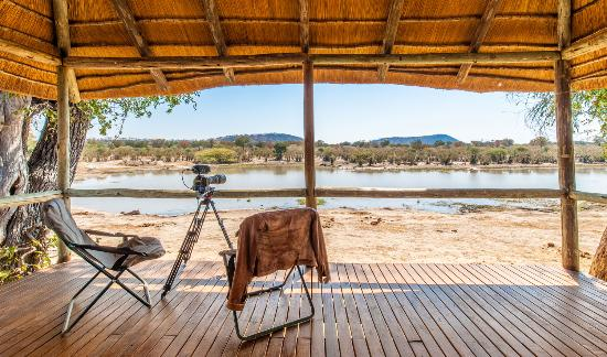 Ghoha Hills Savuti: Hide Overlooking the Waterhole