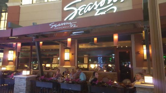 Outside eating at Seasons 52