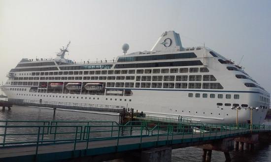 crucero en la Marina pez vela