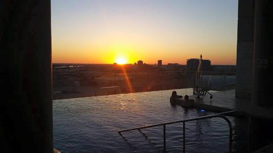 W Dallas Victory Hotel: Infinity Pool (MUST SEE)