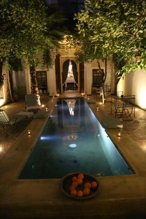 Le Rihani: Nice courtyard