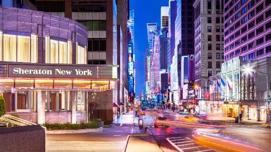Sheraton New York Times Square Hotel Exterior