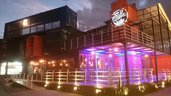 Metepec, México: fachada del restaurante