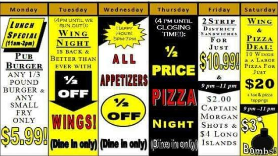 Indiana, PA: Great Specials!