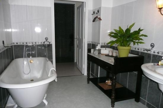 Fabrezan, Γαλλία: Salle de Bain Grenache Blanc