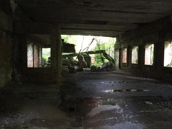 Gierloz, Polonia: Pozostałości po magazynie
