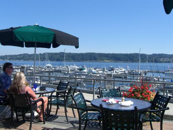Anthony's at Bremerton: View from the deck