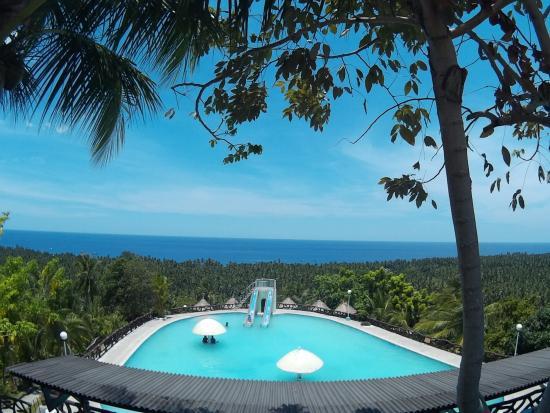 Maasim, Philippinen: Pool at IML