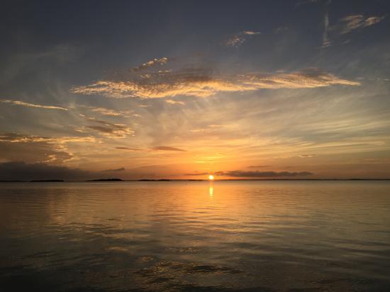 Остров Большой Абако: Sunset at the North End