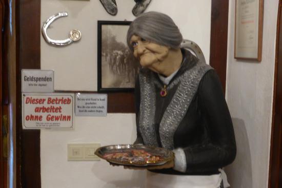 Gaggenau, ألمانيا: Besuch aus der Geisterbahn und andere kleine Scherze