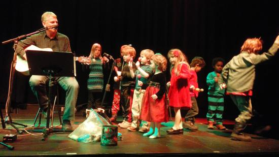 The Chief Theater : Todd Musselman and small friends Christmas 2015