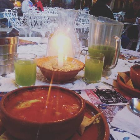 Yautepec, Meksika: Pozole rojo