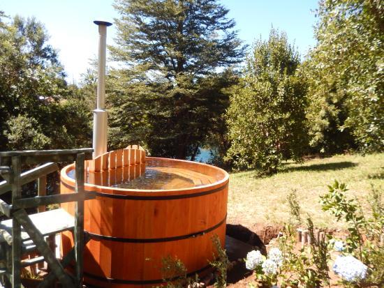 Kari Mapu Park: tina agua caliente