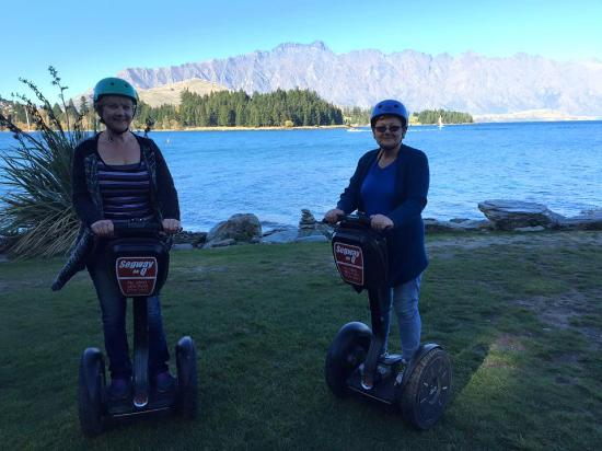 Segway on Q: Our first photo stop