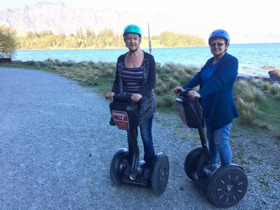Segway on Q: Getting the hang of this now - even got up to 20 km