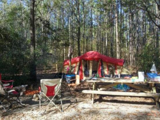 Chipley, FL: Our campsite