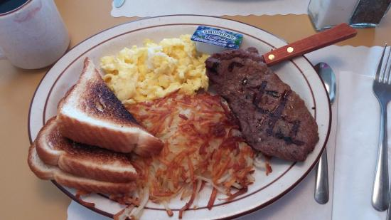 Garrison, MN: Steak and Eggs Special $9.95