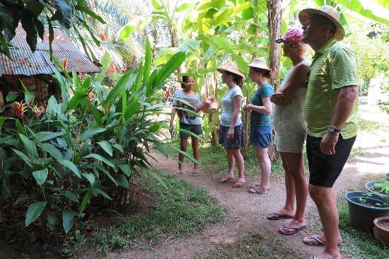 Maret, Tailandia: Erklärungen im Hauseingenen Garten