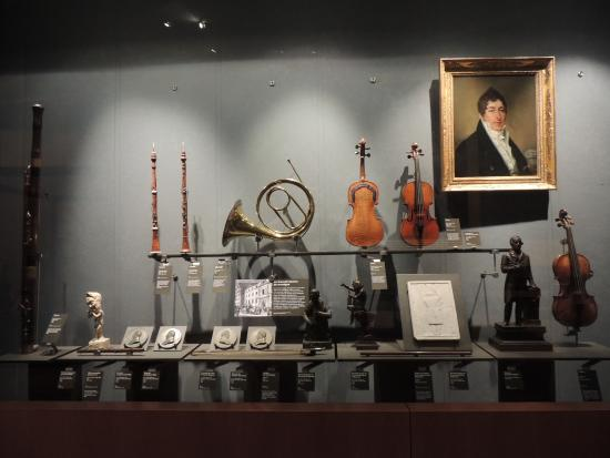 Paris, France: Wonderful history of music and musical instruments.